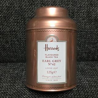 ハロッズ(Harrods)のハロッズ★No.42  アールグレイ★ルーズリーフ缶★紅茶(茶)