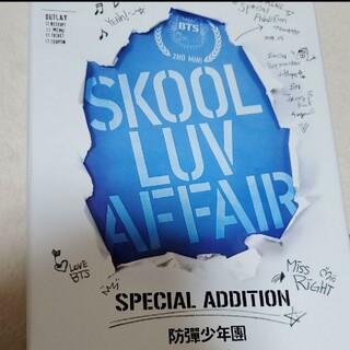ボウダンショウネンダン(防弾少年団(BTS))のBTS SKOOL LUV AFFAIR リパケ トレカ無し(K-POP/アジア)