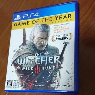 プレイステーション4(PlayStation4)のウィッチャー3 ワイルドハント ゲームオブザイヤーエディション PS4(家庭用ゲームソフト)