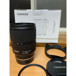 TAMRON - 【美品・付属品完備】TAMRON17-28mm F/2.8 Di III