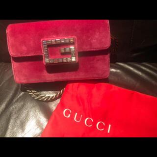 Gucci - 最終限定値下げ 新品 GUCCI グッチ ベロア バッグ ショルダーバッグ