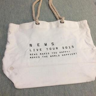 ニュース(NEWS)のNEWS LIVE TOUR 2013 幸福魂 10周年コンサート ツアーバック(アイドルグッズ)