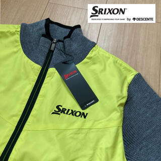 スリクソン(Srixon)のM新品定価15400円/デサント/スリクソン/セーター/ジャケット (ウエア)