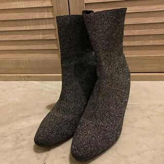 コウベレタス(神戸レタス)のキラキララメソックスブーツ(ブーツ)