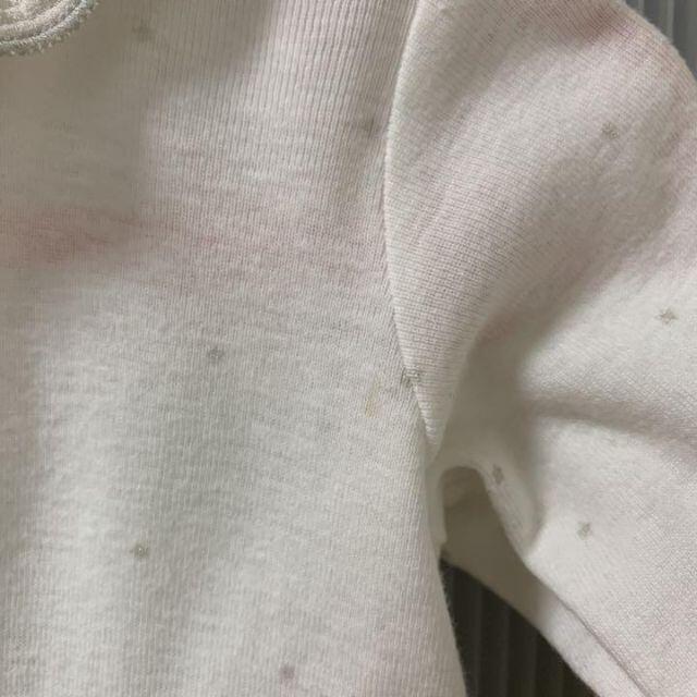 PETIT BATEAU(プチバトー)の10mois ディモワ リコットン 2wayドレス キッズ/ベビー/マタニティのベビー服(~85cm)(ロンパース)の商品写真