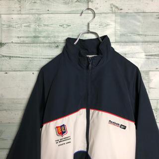 Reebok - 《希少デザイン》90s 古着 リーボック ナイロンジャケット 刺繍 カレッジロゴ