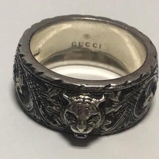 Gucci - GUCCI キャットヘッド シルバーリング ag925