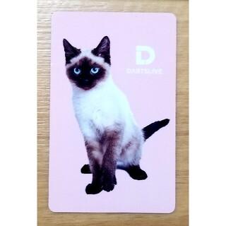 猫ピンク ダーツライブカード