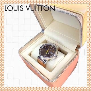LOUIS VUITTON - ★美品★ルイ・ヴィトン タンブール クォーツ Q11110 腕時計 替ベルト付