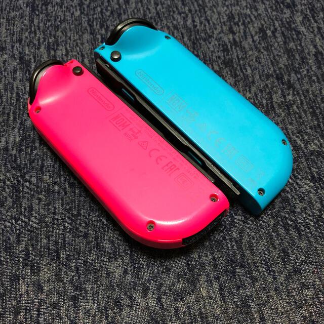 任天堂(ニンテンドウ)のNintendo Switch Joy-Con ネオンブルー ネオンピンク エンタメ/ホビーのゲームソフト/ゲーム機本体(その他)の商品写真