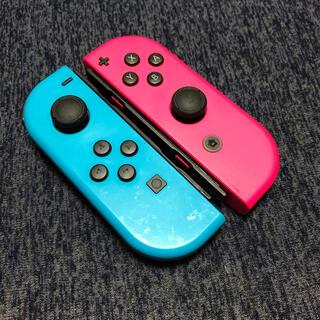 ニンテンドウ(任天堂)のNintendo Switch Joy-Con ネオンブルー ネオンピンク(その他)