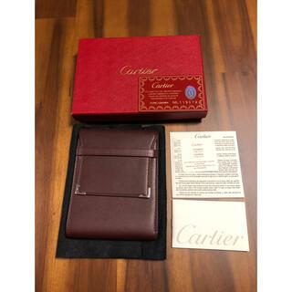カルティエ(Cartier)のカルティエ パスポートケース 新品 カードケース(折り財布)