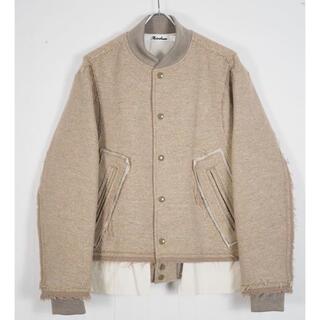 SUNSEA - Midorikawa varsity jacket 19aw