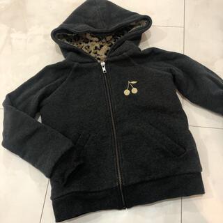 ボンポワン(Bonpoint)の美品 ボンポワン 裏ボアパーカー8a(ジャケット/上着)