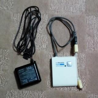 エヌティティドコモ(NTTdocomo)のドコモ FOMA充電セット(バッテリー/充電器)