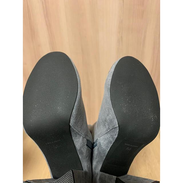 snidel(スナイデル)の【新品未使用】snidel フィットニーハイブーツ レディースの靴/シューズ(ブーツ)の商品写真