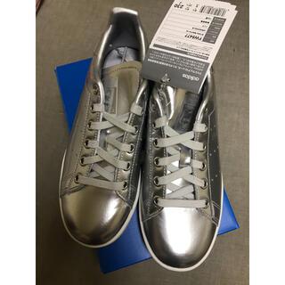 アディダス(adidas)のadidas アディダス スタンスミス シルバーメタリック 新品未使用(スニーカー)