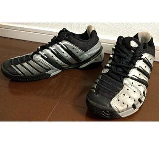 アディダス(adidas)のアディダス テニスシューズ アディバリケード4AC 27cm 錦織圭(シューズ)