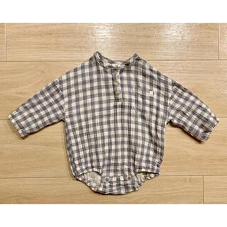 futafuta - バースデイ購入 テータテート ギンガムチェック ロンパース 70
