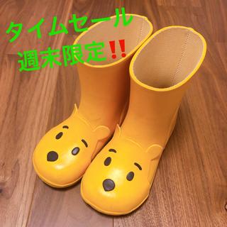 ダイアナ(DIANA)のDIANA  ディズニー レインブーツ プーさん Disney コラボ(長靴/レインシューズ)