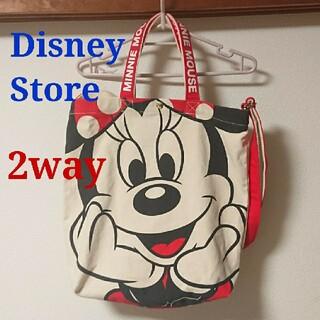 ディズニー(Disney)のディズニー ミニー キャンバス トート ショルダーバッグ 2way 1日使用(トートバッグ)