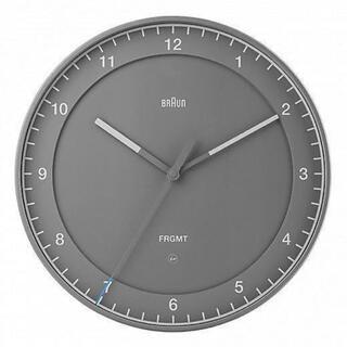フラグメント(FRAGMENT)のBraun  Fragment  新品 ブラウン フラグメント 時計 グレー (置時計)