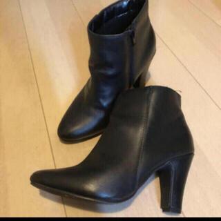 DIANA - ブラックブーツ ショートブーツ