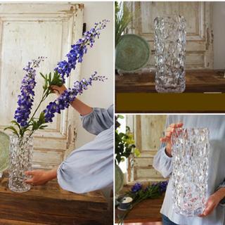 アクタス(ACTUS)の新品 ポリカーボネート フラワーベース クリスタルガラス風花瓶 花器 オブジェ(花瓶)