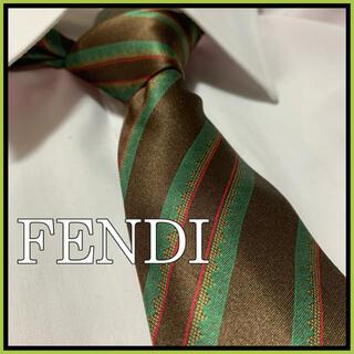 FENDI - 【美品】FENDI フェンディ ネクタイ シルク