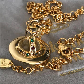 ヴィヴィアンウエストウッド(Vivienne Westwood)の新品 ネックレス 刻印あり ゴールド(ネックレス)