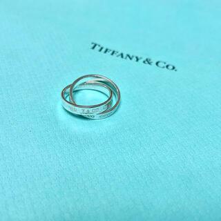 Tiffany & Co. - Tiffany ティファニー 2連リング シルバー 925 インターロッキング