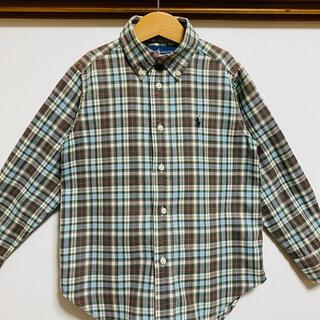 ラルフローレン(Ralph Lauren)のラルフローレン 110 チェックシャツ シャツ 長袖 ブラウス  トップス(ブラウス)