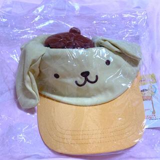 ポムポムプリン(ポムポムプリン)のポムポムプリン☆耳が動く帽子キャップ(キャラクターグッズ)