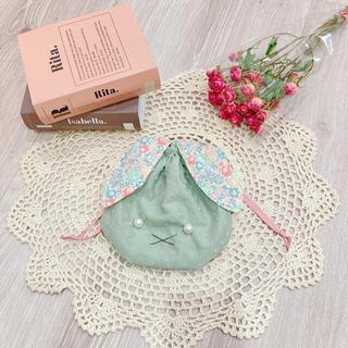 キャラメルベビー&チャイルド(Caramel baby&child )のhand made うさぎさんの巾着(ポーチ)