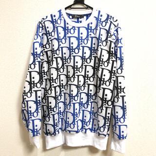 DIOR HOMME - Dior ディオール スウェットシャツ ホワイト L