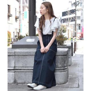 ダブルクローゼット(w closet)のwcloset♡マキシ丈トラペーズスカート(ロングスカート)