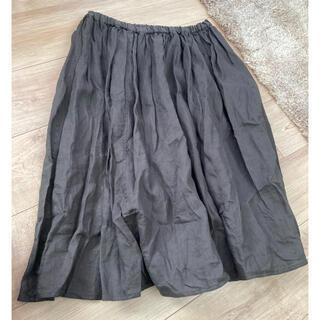 スタディオクリップ(STUDIO CLIP)のスタディオクリップ リネン スカート(ひざ丈スカート)
