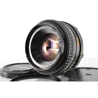 コニカミノルタ(KONICA MINOLTA)のミノルタ Konica Minolta MD 50mm f1.7 #1402(レンズ(単焦点))