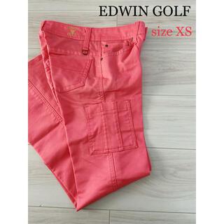 エドウィン(EDWIN)の試着のみ美品!!EDWIN GOLF  レディース ゴルフパンツ(ウエア)