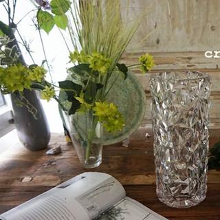 アクタス(ACTUS)の新品  ポリカーボネート フラワーベース クリスタルガラス風花器フラワースタンド(花瓶)