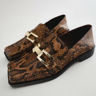 ザラ(ZARA)のZARA靴DIANAファビオルスコーニDIESELサルトルAGペリーコネブローニ(ローファー/革靴)