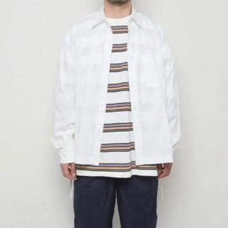 アンユーズド(UNUSED)の値下げ可能 unused サイドレースシャツ シャツ アンユーズド(シャツ)