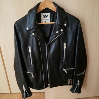 666 - 666 デカジップ ライダースジャケット パンク パンツ シャツ コート 好きに