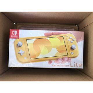 ニンテンドースイッチ(Nintendo Switch)のNintendo Switch Lite スイッチライト イエロー 新品未使用 (携帯用ゲーム機本体)