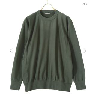 サンシー(SUNSEA)のAURAREE  SUPER HIGH GAUGE SWEAT(スウェット)