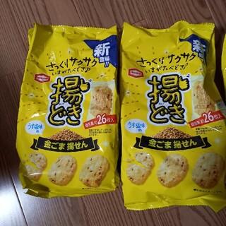 カメダセイカ(亀田製菓)の金ごま揚せん 亀田製菓 いまがたべどき(菓子/デザート)
