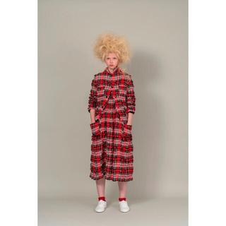 コムデギャルソン(COMME des GARCONS)の2020aw コムデギャルソンガール girl チェックジャケット ウール(テーラードジャケット)