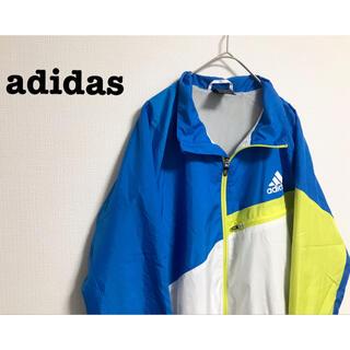 adidas - 古着 adidas アディダス ナイロンジャケット  ブルゾン ユニセックス