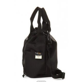 スタディオクリップ(STUDIO CLIP)のトートバッグ  巾着バッグ ショルダーバッグ 小さめ ブラック 黒 レディース(ハンドバッグ)