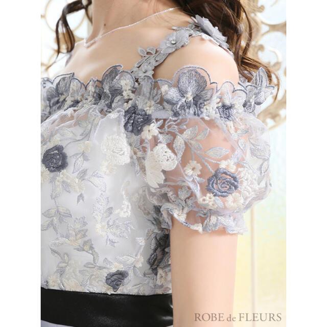 ROBE(ローブ)のROBE de FLEURS ミニドレス レディースのフォーマル/ドレス(ミニドレス)の商品写真
